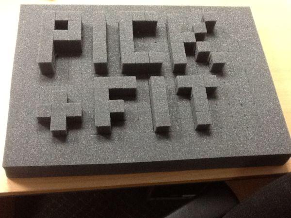 Packaging Foam For Tablet Bottles Test Tube Bungs Crate